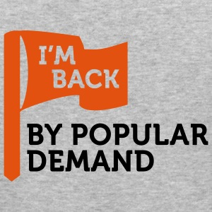 I'm back by popular demand 2 (2c) Pullover - Maglietta aderente da uomo