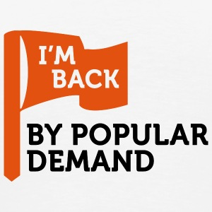 I'm back by popular demand 2 (2c) Tasker - Herre premium T-shirt