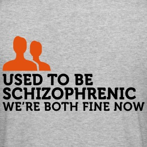 I used to be schizophrenic (2c) Sweatshirts - Tee shirt près du corps Homme