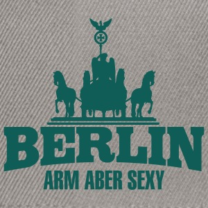 BERLIN ARM ABER SEXY Pullover - Snapback Cap