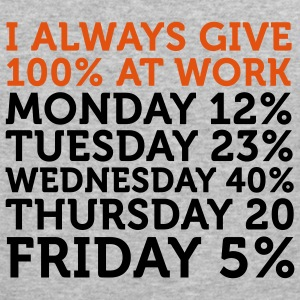 I give 100% at Work (2c) Sweaters - slim fit T-shirt