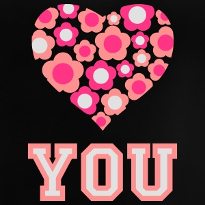 love_blumenherz_you_3c_c Shirts - Baby T-shirt