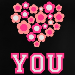 love_blumenherz_you_3c_d Shirts - Baby T-shirt