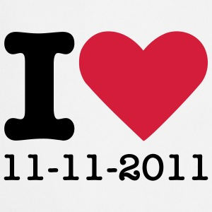 I Love 11-11-2011 T-shirts - Keukenschort