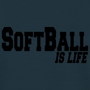 softball is life Vestes - T-shirt Homme