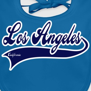 los angeles california Kids' Shirts - Baby Organic Bib