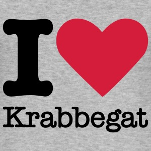 I Love Krabbegat Sweaters - slim fit T-shirt