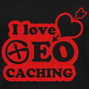 i love geocaching - 1color - Männer Premium T-Shirt