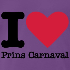 I Love Prins Carnaval Sweaters - Mannen Premium T-shirt