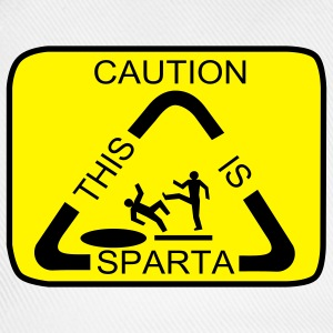 Caution this is Sparta - Baseball Cap
