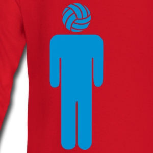 Volleyball Man T-shirts - Långärmad T-shirt baby