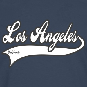 los angeles california T-shirts - Mannen Premium shirt met lange mouwen