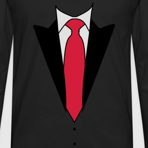 Tuxedo Suit (3c) Kids' Shirts - Men's Premium Longsleeve Shirt
