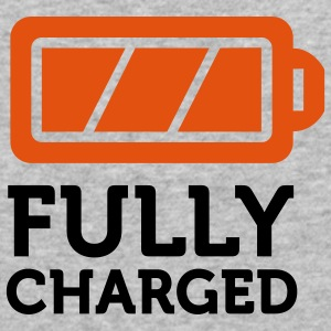 Fully Charged (2c) Pullover - Männer Slim Fit T-Shirt
