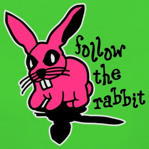 follow the rabbit Kinder Pullover - Frauen Bio-T-Shirt