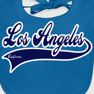 los angeles california Barn-T-shirts - Ekologisk babyhaklapp