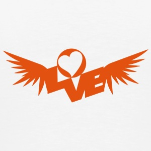 Sharp Love Wings Ondergoed - Mannen Premium T-shirt