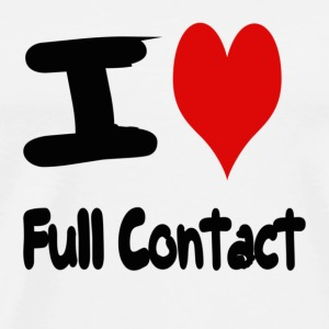 I love Full Contact - T-shirt Premium Homme
