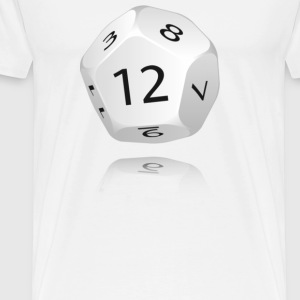 12-sided Die - Men's Premium T-Shirt