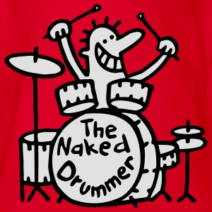 the naked drummer T-Shirts - Baby Bio-Kurzarm-Body
