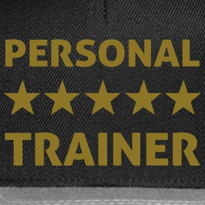 personal trainer T-Shirts - Snapback Cap