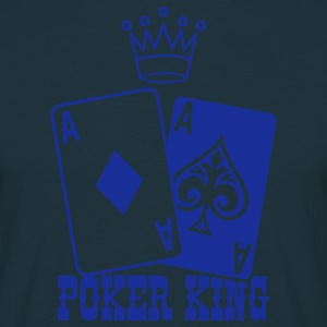 Poker King Forklæder - Herre-T-shirt