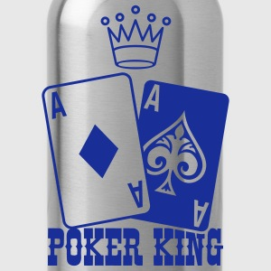 Poker King Kookschorten - Drinkfles