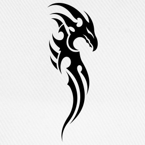 tribal dragon T-Shirts - Baseballkappe