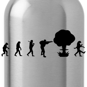 Evolution nuclear war T-Shirts - Water Bottle