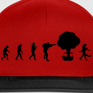 Evolution guerra nucleare T-shirt - Snapback Cap