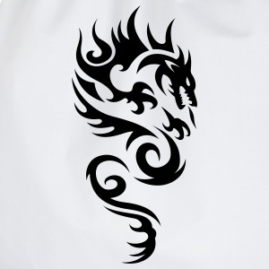tribal dragon T-shirts - Sac de sport léger