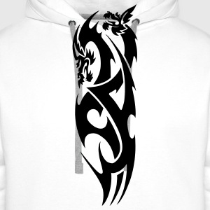 tribal dragon Kids' Shirts - Men's Premium Hoodie