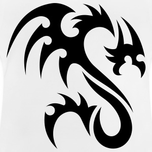 tribal dragon Kinder shirts - Baby T-shirt