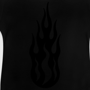 tribal flame Barn-T-shirts - Baby-T-shirt