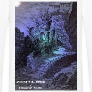 Whit Mug with the image of the Ancient Well Toweer - Men's Premium Longsleeve Shirt