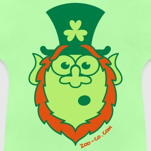 St Paddy's Day Surprised Leprechaun Bags  - Baby T-Shirt