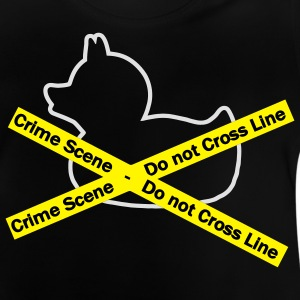 Crime duck Scene Kinder Pullover - Baby T-Shirt