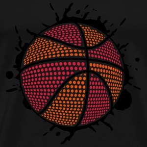 BASKETBALL SPLASH DUNK (C3P) by toneyshirts Pullover - Männer Premium T-Shirt