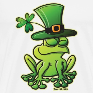 Saint Patrick's Day Frog Mugs  - Men's Premium T-Shirt