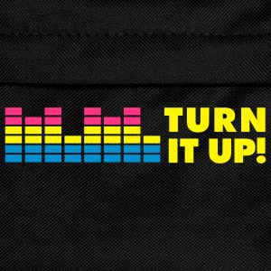 MUSIC: TURN IT UP T-skjorter - Ryggsekk for barn