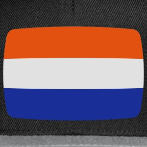 Netherlands Holland Flag Holland Netherlands Nederland Dutch flag Dutch  T-Shirts - Snapback Cap