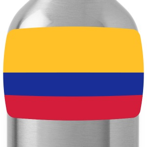 Colombia Colombia vlag vlag Colombia Colombiaanse Colombiaanse T-shirts - Drinkfles