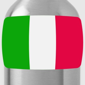 Italy Flag Italy Italia Italian flag  T-Shirts - Water Bottle