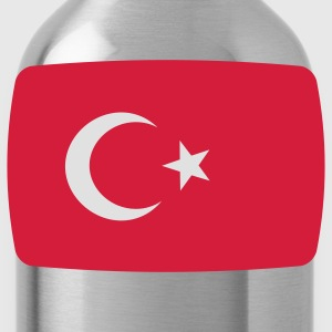 Turkey Flag Turkey Türkiye Turkish flag T-Shirts - Water Bottle