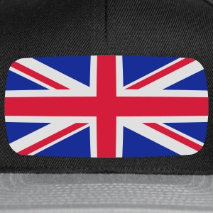 United Kingdom Flag United Kingdom Flag United Kingdom English British  T-Shirts - Snapback Cap