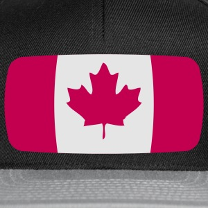 Drapeau du Canada Canada Canada Drapeau du Canada T-shirts - Casquette snapback