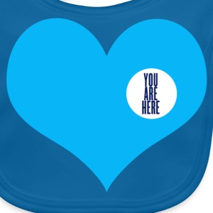 you are here - Amore e San Valentino T-shirt bambini - Bavaglino