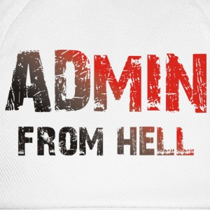 ADMIN from hell - Baseballkappe