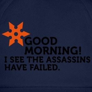 I See The Assassins Have Failed (2c) T-shirts - Basebollkeps