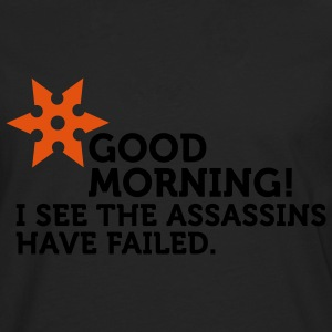 I See The Assassins Have Failed (2c) T-Shirts - Men's Premium Longsleeve Shirt